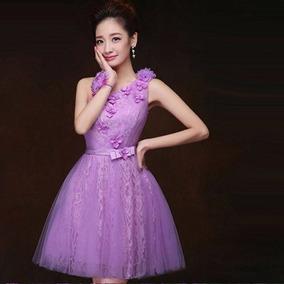 Vestidos de graduacion color lila