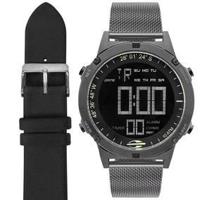 235ca718d692e Relógio Mormaii Kit Digital Esteira silicone Mow13901c t4c