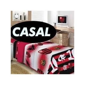 Edredom Flamengo Casal 1 Edredom+2 Travesseiro+2 Fronha · R  329 99 a265805d0d690