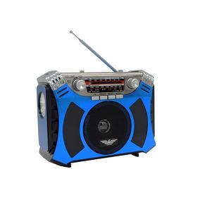 Caixa De Som Jinfeng Radio Vintage Lanterna Am Fm Mp3 J-106