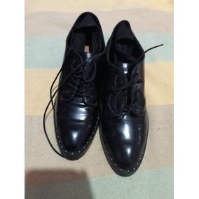 Zapato De Mujer Tacon Calcetin Talla 38 Marca Zara Trafaluc