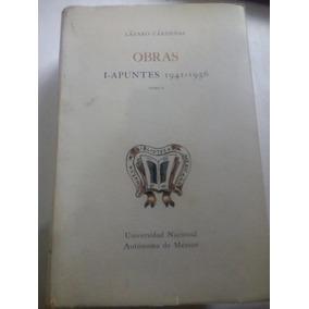 Libro Antiguo 1973 Obras Lázaro Cárdenas 1941-1956 (2)