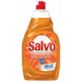 Salvo Lavatrastes Líquido Antibacterial, 750 Ml