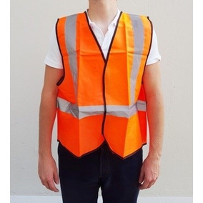 Chaleco Reflectivo De Seguridad Naranja