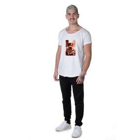 Camiseta Masculina Blusa Estampada Suffix