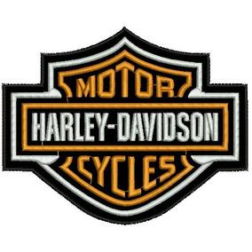 Patch Bordado Harley Davidson Logo Termo Colante.
