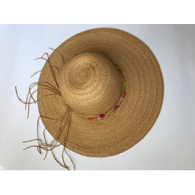 1666705e733a1 Sombrero Beige Paja Playa Sol Dama Nuevo Urban Tree Unitalla