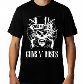 038bb99945038 Camiseta Masculina De Bandas Guns N Roses Camisa Banda Rock