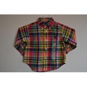 Camisa Xadrez Menina Ralph Lauren 2 Anos - Camisas no Mercado Livre ... 4f31787f861