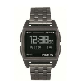 Reloj Base Plateado Nixon