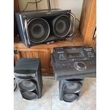 Sistema De Audio De Alta Potencia Sony (lbt Dj2i)