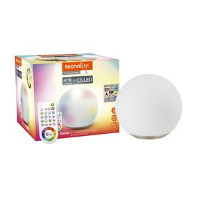 Lampara Inteligente Tecnolite Esfera De Cristal Wifi 13w 16
