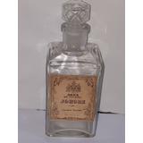 Deco - Antiguo Frasco De Perfume Johore Smart Colonia 1 6cm