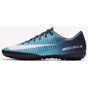 9b95e7a6cc Chuteira Nike Mercurial Glide 3 Tf Society Tam 42 - Chuteiras no ...