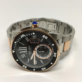 1d201388ae8a Reloj Cartier Diver 42mm Oro Rosa Y Acero Automatico