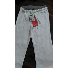 9abc547964f27 Pantalon Niña Benetton Pantalon Blanco