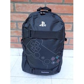 Mochila Playstation Estampada Porta Notebook Joystick