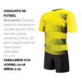 Conjuntos De Futbol Con Nombre De Tu Equipo Y Numeros