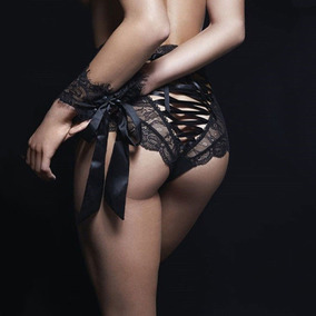 Baby Doll Pantaleta Encaje Sexy Braga Tanga Dist0