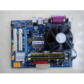 Kit Core 2 Duo E8400 + 3gb + Placa Mae Gigabyte