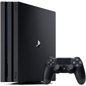 Console Video Game Playstation Play 4 Pro Sony 1tb Ps4 4k