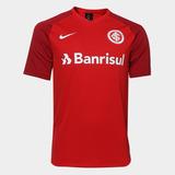 f75e4ce4e6 Camisa Internacional I 2018 Torcedor Estádio Nike Masculina