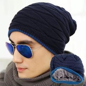 6115b6cf4ac45 Touca Preta Toucas Masculino - Acessórios da Moda Azul no Mercado ...
