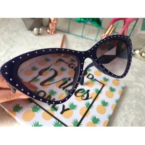 Óculos Sol Feminino Acessorio Verão Oculos Escuro Praia - Óculos no ... 2d8d767c8e
