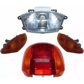 Farol + Piscas + Lanterna Traseira Honda Biz C100 Até 2005