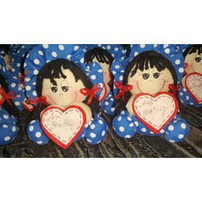 Bonecas Para Lembrancinha De Aniversário -100 Unidades
