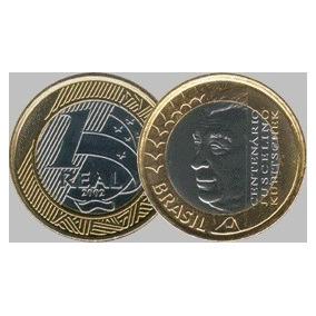 Moeda De R$1,00 Jk