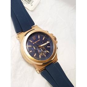 8a9ebda35d95b Relógio Michael Kors Mk8295 Azul Original - Relógios De Pulso no ...