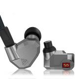 Auriculares In-ear Kz Zs5 - Monitores De 4 Drivers + Estuche