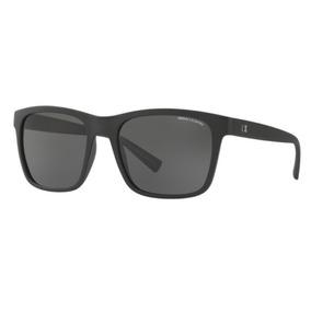 Oculos Sol Armani Exchange Ax4063sl 818287 Preto Fosco Cinza 23eac0fc3e