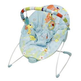 Bouncer Mecedor Bebe Prinsel Vibrador Juguetero Azul