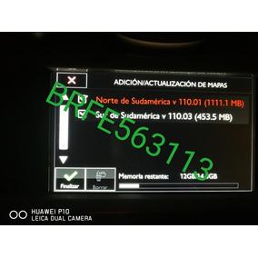 Mapas Peugeot V110 Suramerica