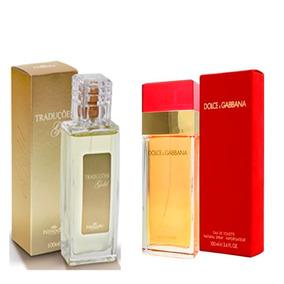 b4fe7a4fa9a08 Perfume Masculino Traduções Gold Hinode 100ml. Rio de Janeiro · Perfume  Traduções Gold Feminino Fragrancia Dolce   Gabbana