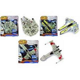 Naves Starwars: Jedi Starfighter, Millennium Falcon Y X-wing