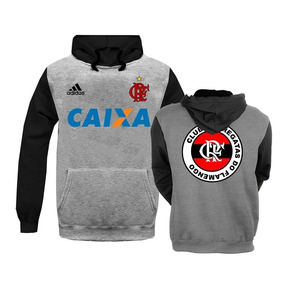 d1c5d5d670 Casaco Cinza Flamengo - Moletom Masculinas no Mercado Livre Brasil