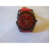 519c665a87b Relogio Ferrari Vermelho Pulseira Vermelha no Mercado Livre Brasil