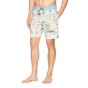 Short De Baño Billabong Sundays Lt Surf Club Stone Hombre