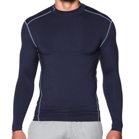 Remera Under Armour Training Ua Coldgear Mock Hombre Mn
