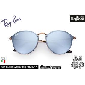 110a1cc3fc Ray Ban Blaze - Óculos De Sol Ray-Ban Round no Mercado Livre Brasil