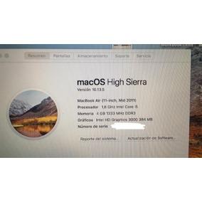 Macbook Air 2011.