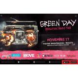 Boletas Para El Concierto De Green Day Revolution Radio
