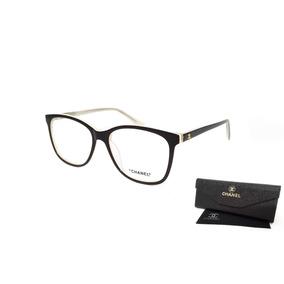 Armacao Oculos Feminino Grau Chanel - Óculos no Mercado Livre Brasil a910d28f87