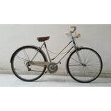 Antigua Bicicleta Gloria Garibaldina Made In Millan Italia