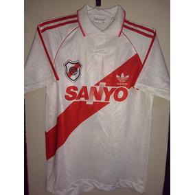 Camiseta De River Plate 1993 Talle 04 O S De Mujer #7 Felpa