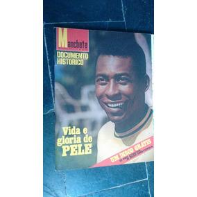 Revista Da Historia Do Pelé Com Disco De Vinil Original