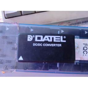 Conversor Dc/dc Isolação 8w Datel Uwr-5/1600-d5a